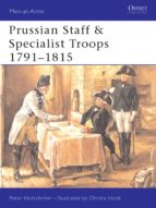 Prussian Staff & Specialist Troops 1791-1815 (ebook)