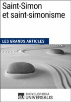 Saint-Simon et saint-simonisme (ebook)