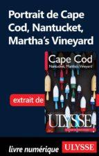 PORTRAIT DE CAPE COD NANTUCKET MARTHA'S VINEYARD