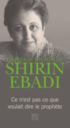 L'appel au monde de Shirin Ebadi (ebook)