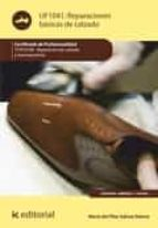 Reparaciones básicas de calzado. TCPC0109