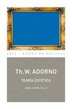 Teoría estética (ebook)