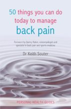 50 Things You Can Do Today to Manage Back Pain (ebook)