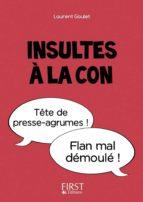Petit Livre - Insultes à la con (ebook)