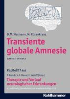 Transiente globale Amnesie (ebook)