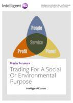 Trading For A Social Or Environmental Purpose (ebook)