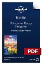 BERLÍN 8. POTSDAMER PLATZ Y TIERGARTEN