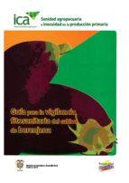 Guía para la vigilancia fitosanitaria del cultivo de berenjena (ebook)