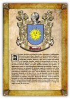 Apellido Buendía / Origen, Historia y Heráldica de los linajes y apellidos españoles e hispanoamericanos