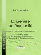 La Genèse de l'humanité (ebook)