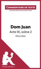 Dom Juan de Molière - Acte III, scène 2 (ebook)
