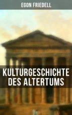 Kulturgeschichte des Altertums (ebook)