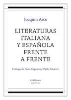 Literaturas italiana y española frente a frente (ebook)