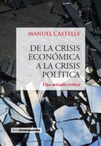 DE LA CRISIS ECONÓMICA A LA CRISIS POLÍTICA