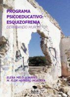 PROGRAMA PSICOEDUCATIVO: ESQUIZOFRENIA  (DERRIBANDO MUROS) (ebook)
