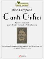 Canti Orfici (ebook)