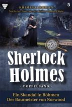 SHERLOCK HOLMES DOPPELBAND 5 ? KRIMINALROMAN