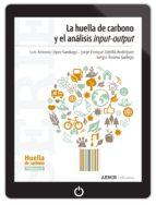 La huella de carbono y el análisis input-output (ebook)