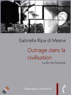 Outrage dans la civilisation (ebook)