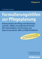 Formulierungshilfen zur Pflegeplanung (ebook)