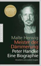 Meister der Dämmerung (ebook)