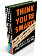 THINK YOU?RE SMART (BUMPER EDITION) BOOKS #1-#3