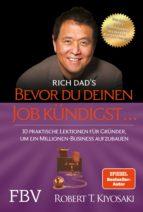 Bevor du deinen Job kündigst ... (ebook)