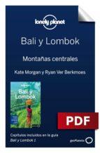 BALI Y LOMBOK 1. MONTAÑAS CENTRALES