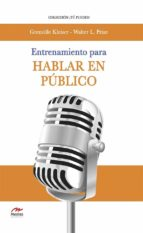 Entrenamiento para hablar en público (ebook)