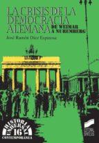 La crisis de la democracia alemana (ebook)