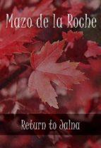 Return to Jalna (ebook)