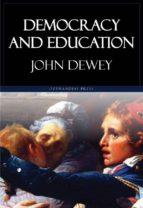 Democracy and Education (ebook)