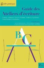 Guide des ateliers d'écriture (ebook)