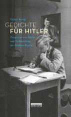 Gedichte für Hitler (ebook)