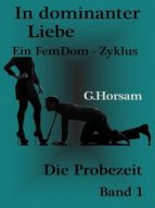 In dominanter Liebe - Band 1: Die Probezeit (ebook)