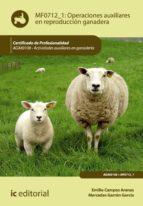 Operaciones auxiliares en reproducción ganadera. AGAX0108 (ebook)