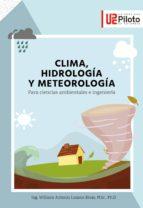 Clima, hidrología y meteorología. (ebook)