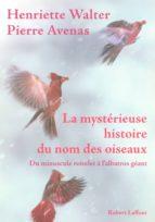 La mystérieuse histoire du nom des oiseaux (ebook)