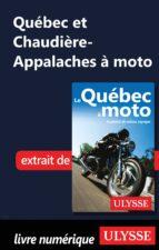 Québec et Chaudière-Appalaches à moto (ebook)