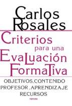 Criterios para una evaluación formativa (ebook)