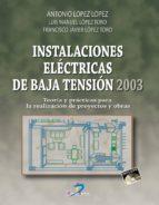 Instalaciones eléctricas de Baja Tensión 2003
