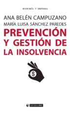 PREVENCIÓN Y GESTIÓN DE LA INSOLVENCIA