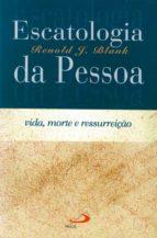 Escatologia da pessoa (ebook)