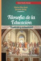 Filosofía de la educación (ebook)