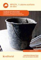Labores auxiliares de obra. EOCB0109 (ebook)
