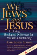 We Jews and Jesus (ebook)