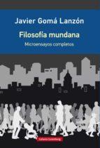 Filosofía mundana (ebook)