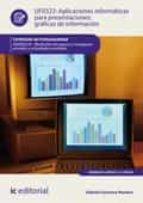 Aplicaciones informáticas para presentaciones: gráficas de información. ADGN0210 (ebook)