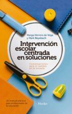 Intervención escolar centrada en soluciones (ebook)