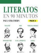 EN 90 MINUTOS - PACK LITERATOS 2: TOLSTOY, POE, VIRGINIA WOOLF, DOSTOYEVSKI, KAFKA Y D.H. LAWRENCE